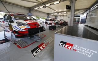 トヨタがWRCポルトガルでラリー1仕様のベースとなる新エンジンを投入
