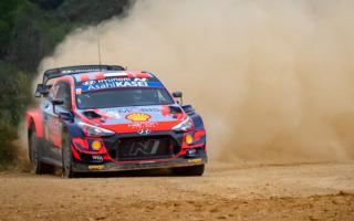 WRCポルトガル:初日を終え首位はオィット・タナック。勝田貴元は4番手