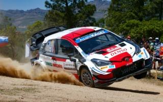 WRCサルディニア:不利な出走順を乗り越え、オジエが初日総合3番手