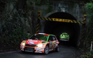 全日本ラリーモントレー:最終SSでの逆転劇で福永修が3連勝