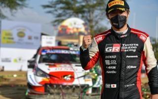 WRCサファリ:勝田貴元が伝統のサファリで総合2位に入り初表彰台を獲得