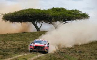 WRCサファリ:5台が消えるサバイバルの2日目、首位はヌービル。勝田は総合2番手に浮上