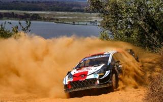 WRCサファリ:シェイクダウンはオジエがトップ。勝田は5番手