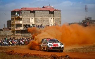 WRCサファリ:初日はヤリスWRCがトップ3を独占