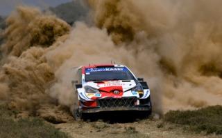 WRCサファリ:波乱の2日目、オジエが総合4番手。勝田は総合2番手につける
