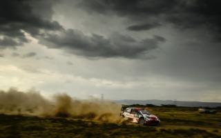 WRCサファリ:突然の降雨を切り抜けオジエが総合3番手。勝田は総合2番手を守る
