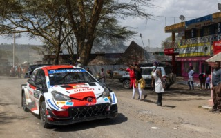 WRCサファリ:オジエが今シーズン4回目の勝利。勝田は総合2位で初表彰台を獲得