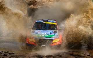 WRCサルディニア:WRC2はヒュンダイのヤリ・フッツネンが今季初勝利