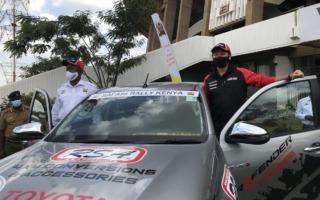 トヨタ・ケニア、WRCサファリにコースカーとしてハイラックスを提供