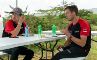WRCサファリ:勝田貴元「攻守のポイントを見極め、自分自身を成長させたい」イベント前記者会見