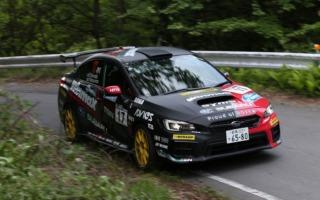 全日本ラリーモントレー:鎌田卓麻が今シーズン初表彰台を獲得