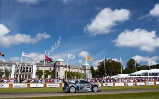 Mスポーツ・フォード、プーマ・ラリー1でグッドウッドのファンを魅了