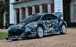 Mスポーツ・フォード、新型プーマ・ラリー1プロトタイプを発表