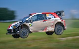 WRCエストニア:シェイクダウンはトヨタのロバンペラがトップ。勝田は3番手