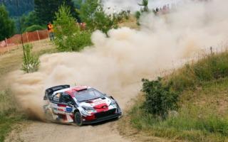 WRCエストニア:競技2日目を終えてロバンペラが総合首位、勝田はバリットの負傷でリタイアを決断