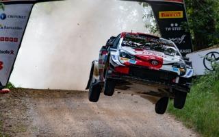 WRCエストニア:6度のSSベストタイムでロバンペラが首位快走