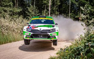 WRCエストニア:WRC2はアンドレアス・ミケルセンが優勝し選手権首位に浮上