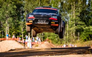 WRCエストニア:WRC3は、最終SSで転倒もアレクセイ・ルキヤナクが圧勝