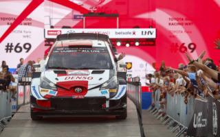 WRCエストニア:ロバンペラがオープニングステージを制し首位に立つ