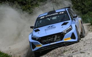 WRCイープルでヒュンダイi20 Nラリー2が実戦へ。ソルベルグとフッツネンがドライブ
