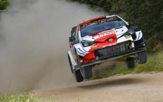 WRCエストニア:勝田貴元、総合3番手につけるもリタイアを選択
