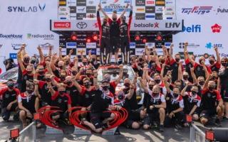 WRCエストニア:豊田章男社長「やっとふたりに気持ちよく走ってもらえた」コメント全文