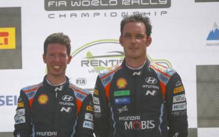 WRCベルギー:ヌービル「マルティンとずっとやってきたような感じ」イベント後記者会見