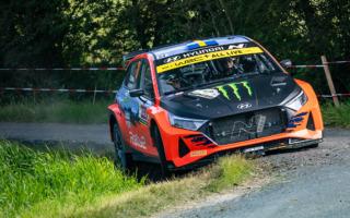 WRCベルギー:WRC2は新型i20 Nラリー2のオリバー・ソルベルグが首位