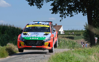 ヒュンダイi20 Nラリー2、実戦デビューのWRCベルギーで勝利、WRC3勢も健闘