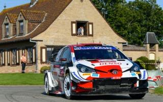 WRCベルギー:3番手エバンスを筆頭に、3台のヤリスWRCが4.3秒の接近戦