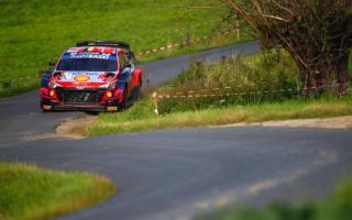 WRCベルギー:競技初日を終え、ヌービルを先頭にヒュンダイが1-2-3。勝田は7番手