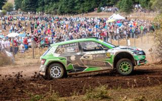 WRCギリシャ:WRC2は激戦を制したアンドレアス・ミケルセンが優勝