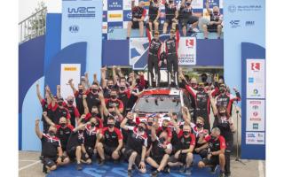 WRCギリシャ:豊田章男社長「お父さんを超える2勝目、おめでとう!」コメント全文