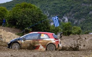 WRCギリシャ:シェイクダウンはトヨタのロバンペラがトップ。2-3-4とヒュンダイ勢が続く