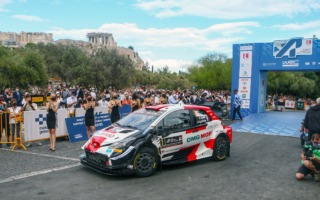WRCギリシャ:オジエが初日を制し、ヤリスWRCがトップ3を独占