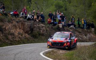 WRCスペイン:競技2日目もヒュンダイのヌービルが首位堅持。トヨタの2台が追う展開