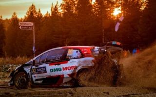 WRCフィンランド:初日を終えてエバンスが総合3位に、ロバンペラが総合5位に