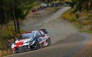 WRCフィンランド:競技2日目、トヨタのエバンスが逆転首位に。勝田はリタイア