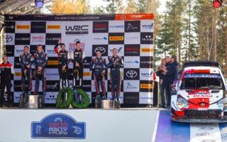 WRCフィンランド:豊田章男社長「ヤリスWRCが生まれた街、育てられた道に恩返しができた」コメント全文