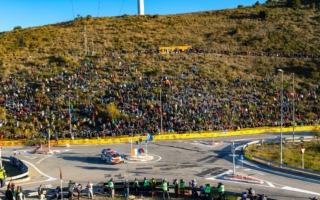 WRCスペイン:シェイクダウンはトヨタのオジエがトップ。勝田は1.5秒差の9番手