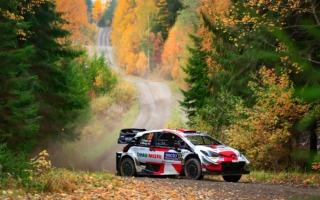 WRCフィンランド:エバンスが6本のベストタイムで首位に立つ