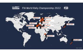 FIA、2022年WRCカレンダーを承認、ラリージャパンは最終戦として開催