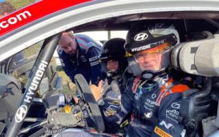 WRCスペイン:WRカーで参戦のオリバー・ソルベルグがテスト、ソルドからもアドバイス