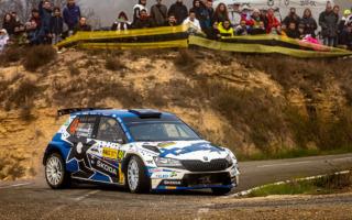 WRCスペイン:WRC3はエミル・リンドホルムがトップ、カエタノビッチが選手権首位に浮上