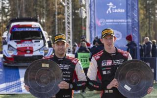 WRCフィンランド:エバンス「タイトルのチャンスは少し増えただけ」イベント後記者会見