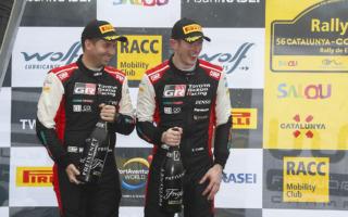 WRCスペイン:トヨタ勢はエバンス2位、オジエ4位でタイトル決戦は最終戦へ
